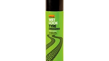 Halfords Wet Look Tyre Dressing
