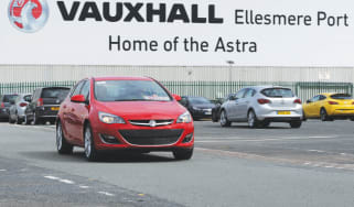 Standard production Vauxhall Astra in record-breaking attempt