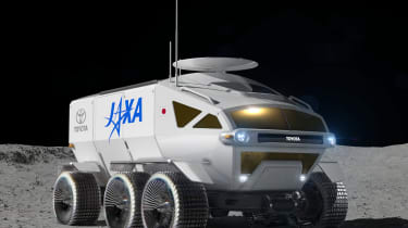Toyota lunar vehicle - front 3/4