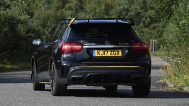 Mercedes-AMG GLA 45 Yellow Night Edition - rear