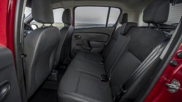 Dacia Sandero SCe 75 Ambiance - rear seats