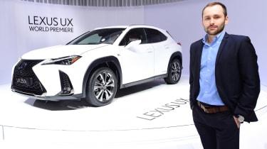 2018 Geneva Motor Show stars - Lexus UX Johnny Burn