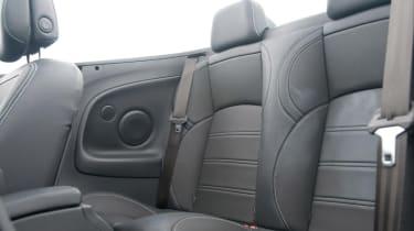 Renault Megane CC rear seats