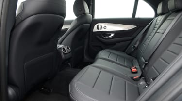 Mercedes E 350d 2016 - rear seats