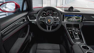 New 2018 Porsche Panamera GTS interior