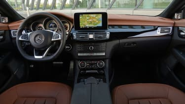New Mercedes CLS 2014 interior