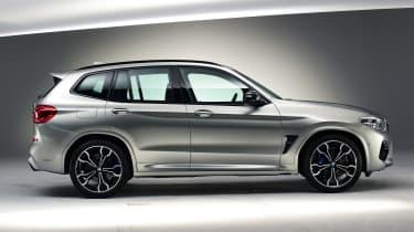 BMW X3M - side