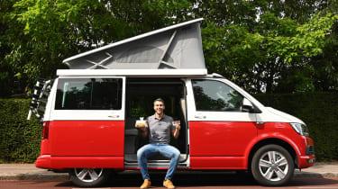 Volkswagen California Ocean long termer - first report header