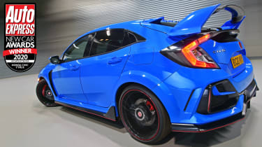 With 316bhp, the Civic Type R is as impressive as ever, with Honda delivering chassis and transmission enhancements for 2020.