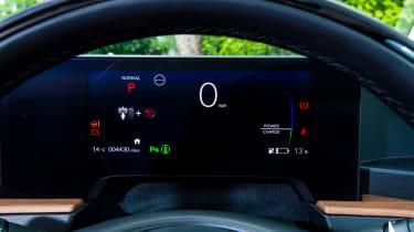 Honda e - dials