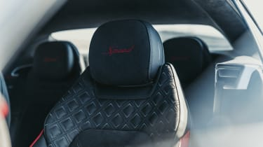 Bentley Continental GT Speed - seats