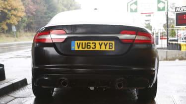 2016 Jaguar XF mule static rear