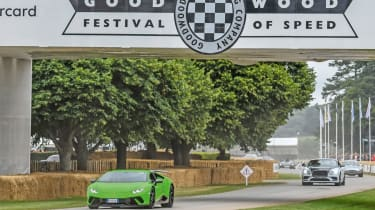 Our year in cars - Goodwood