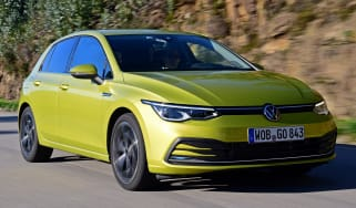 Volkswagen Golf Mk8 - front tracking