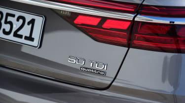 New Audi A8 2017 - tailgate