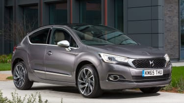 New DS 4 diesel UK drive static