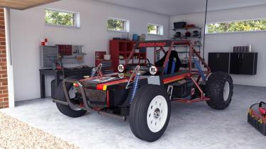 Wild One Max - garage