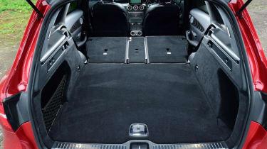 Used Mercedes GLC - boot seats down