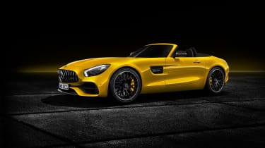 Mercedes-AMG GT S Roadster front 3/4