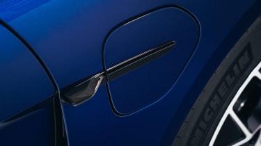 Porsche Taycan - charging port 1