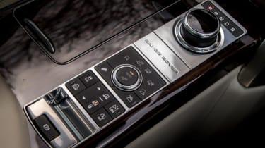 Used Range Rover - centre console
