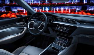 Audi e-tron - interior