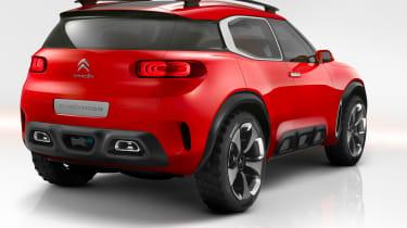 Citroen Aircross concept - rear static