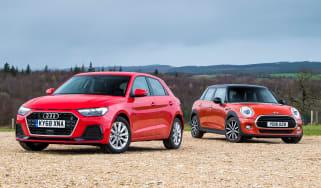 Audi A1 vs MINI - header