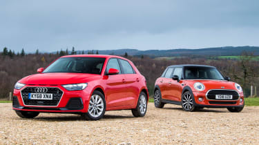 Audi A1 vs MINI - header