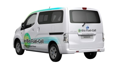 Nissan e-Bio Fuel Cell prototype vehicle rear