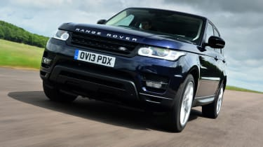 Range Rover Sport front action