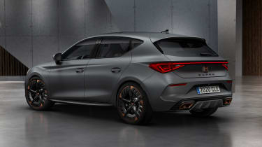 Cupra Leon hatch - front static