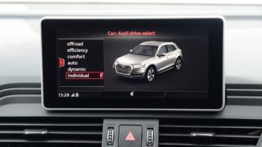 Audi SQ5 - infotainment screen