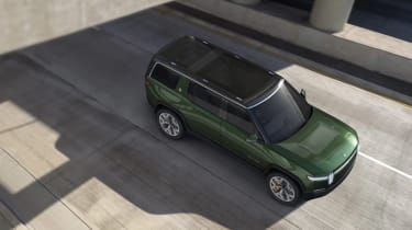Rivian R1S - above