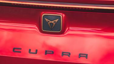 Cupra Leon Estate - rear badge