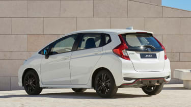 Honda Jazz facelift - rear