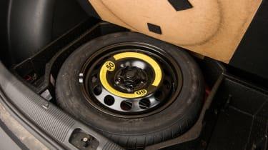 Used Skoda Yeti - spare wheel