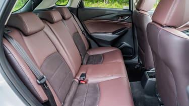 Mazda CX-3 GT Sport - rear seats