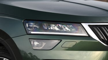 Skoda Karoq Scout - front light