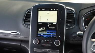 Renault Grand Scenic console