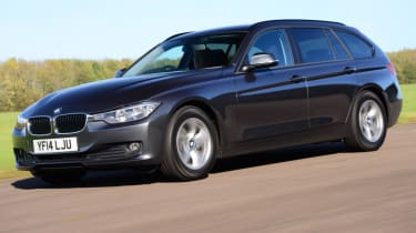 BMW 3 Series Touring - Front Quarter