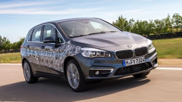 BMW 2 Series Active Tourer eDrive - front tracking