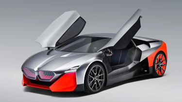 BMW Vision M NEXT concept - studio doors open