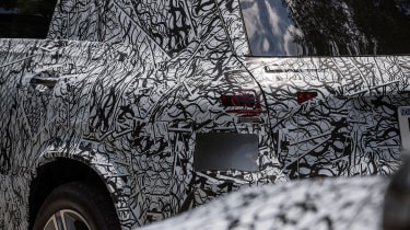 Mercedes GLE prototype - detail