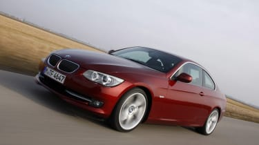 BMW 3-Series Coupe front