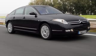 Citroen C6 saloon front tracking