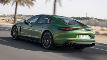 Porsche Panamera GTS - rear action