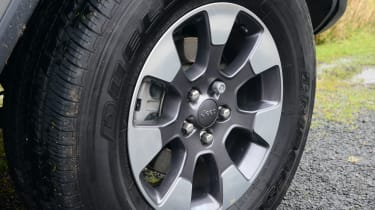 Jeep Wrangler alloy wheel