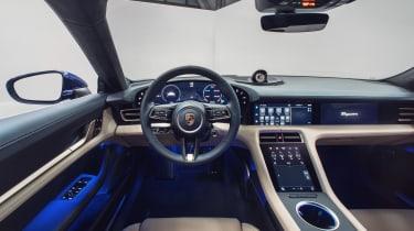 Porsche Taycan - dashboard