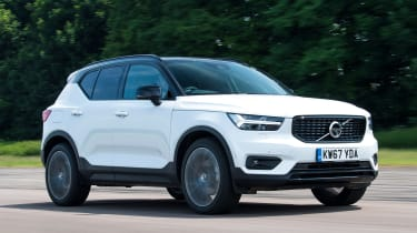 Volvo XC40 driving front